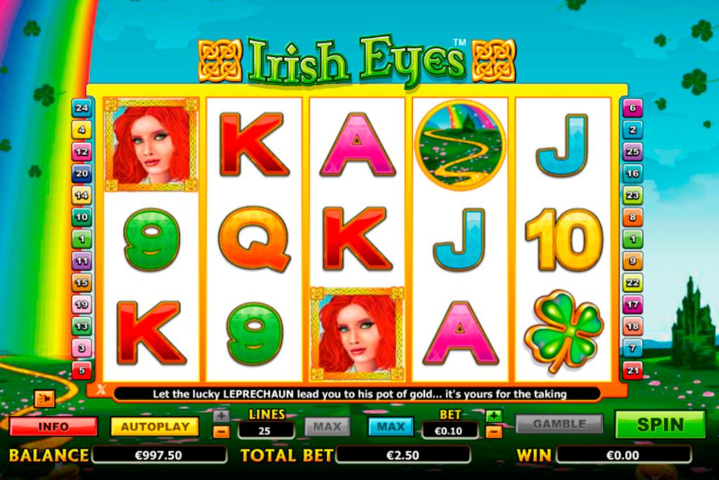 irish-eyes-is-a-five-reel-25-payline-slots-machine-game