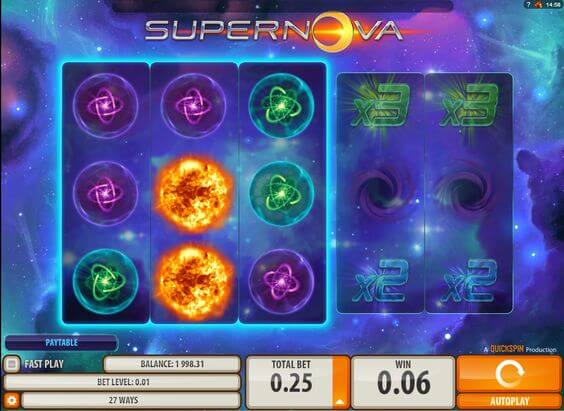 3-game-reels-to-this-online-Supernova-slot-game-1